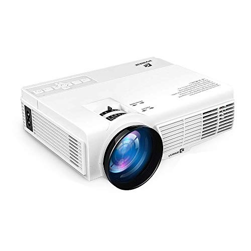 Hd Projector Full Color 720p 2400 Lumens Digital Tv Single: VIVIMAGE C3 Full HD Projector With 2400 Lux, Mini Home